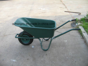 High Quality Heavy Duty Wheel Barrow 6414t pictures & photos