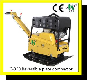 Reversible Soil Plate Compactor C-350 with 38.0kn pictures & photos