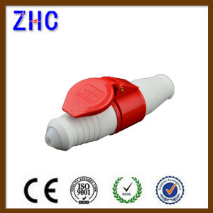 380V 32A IP44 Splash CE 3p+E 6h PC Plug pictures & photos