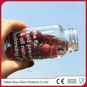 250ml Squared Plastic/ Glass Bottle for Beverage /Juice/ Water pictures & photos