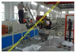PVC Pipe Making Machine/PVC Pipe Extruder/PVC Pipe Machine/PVC Pipe Line pictures & photos