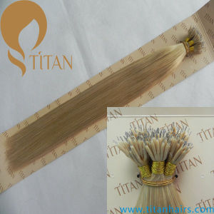 Double Drawn Brazilian Rmey Hair Nano Ring Hair Extension (TT379)