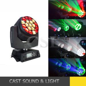 19 * 15W LED Beam Stage Lighting Moving Head pictures & photos