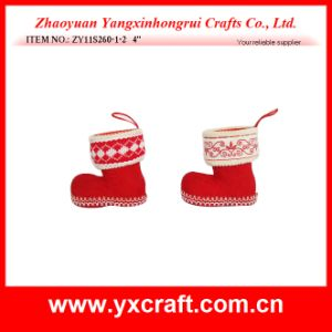 Christmas Decoration (ZY11S260-1-2) Sant Boot pictures & photos
