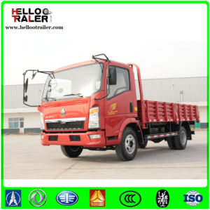 Sinotruck HOWO 6 Wheels Light Truck Mini Truck 116HP 4*2 4*4 for Sale pictures & photos