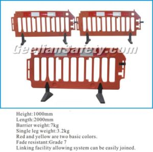 Red/Yellow /Blue/Green Temporary Safety Traffic Road Fence Barriers pictures & photos