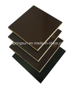Black Waterproof Concrete Film Faced Plywood pictures & photos