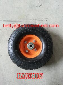 10 Inch 4.10/3.50-4 Pneumatic Wheel for Hand Trolley pictures & photos
