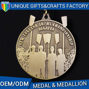 High Gold Medal Gift Promotions Medallion pictures & photos
