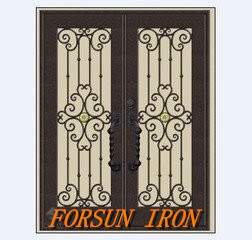Wrought Iron Security Door with Hand-Forged pictures & photos