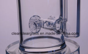 Wholesale High Quality Thick Glass Bon Glass Water Pipe with Flower pictures & photos