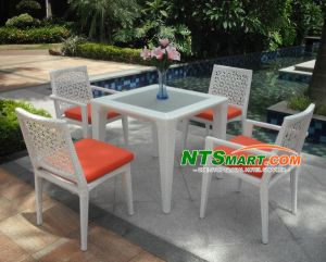 Rattan Dining Set (H001) pictures & photos