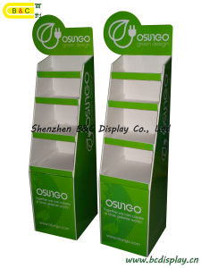 Paper Display Rack, Floor Display Stand, Promotion Cardboard Display Stand (B&C-A014) pictures & photos