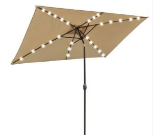 2X3m Square LED Umbrella Solar Umbrella pictures & photos