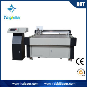 Flatbed Rigid PVC Plastic Pattern Oscillating Knife Cutting Machine pictures & photos