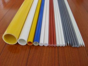 Pultruded High Strength Flexible Durable FRP Pole pictures & photos