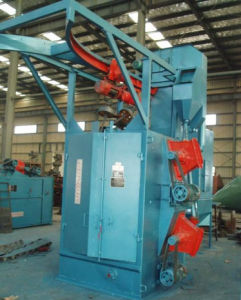 Q3750 Lifting Hook Centrifugal Shot Blasting Machine pictures & photos