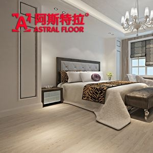 Waterproof HDF AC3/AC4 Wave Embossed Laminate Flooring (AB9910) pictures & photos