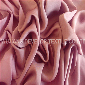 Soft Polyester Twist Satin Chiffon (DT2053)