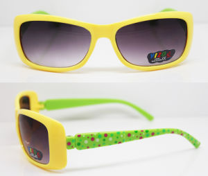 UV400 Plastic Injection Kids Frame Sunglasses (XZ041) pictures & photos