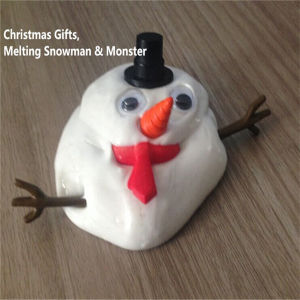 Melting Monster Snowman Magic Thinking Silicone Putty Clay