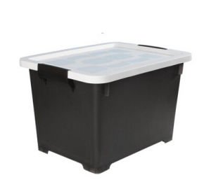 Household Storage Colourful Collapsible Non Woven Plastic Storage Box & Bins pictures & photos