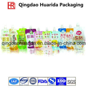 Plastic Packaging Bag, Stand up Pouch, Spout Pouch for Beverage pictures & photos