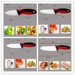 "3-6"" Inch Ceramic Knife Set Kitchenware (ZJ-0038) pictures & photos"