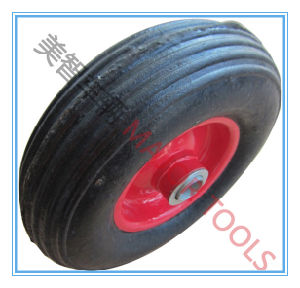 Solid Rubber Wheel, Black Rubber Wheel pictures & photos