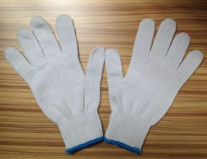 10 Gauge 100% Cotton Gloves with High Quality Safety Cotton pictures & photos