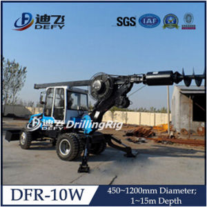 Dfr-10W Wheel Type 15m Pile Driver Machine pictures & photos