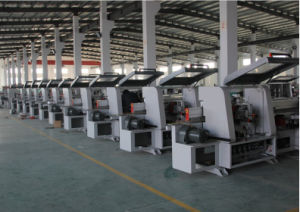 Woodworking with Slotting Full Automatic Linear Edge Bonding Machine pictures & photos