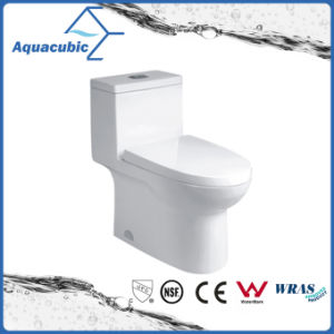 Siphonic Dual Flush Ceramic Toilet in White (ACT9324) pictures & photos