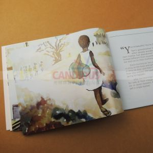 Children′s Book Printing Saddle Stitch Book Printing pictures & photos