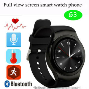Bluetooth Watch Mobile Phone with ECG Measurements pictures & photos