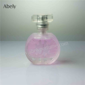 Glass Perfume Bottles with Frosting Decoration pictures & photos
