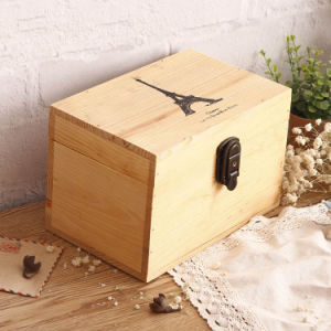 Decorative Gift Pine Wood Box for Christmas Gift pictures & photos