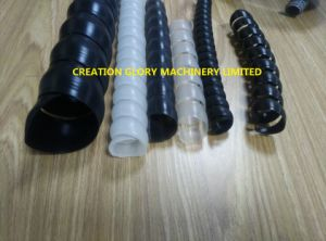 Advanced Technology Plastic Spiral Corrugated Tubing Extruding Making Machine pictures & photos
