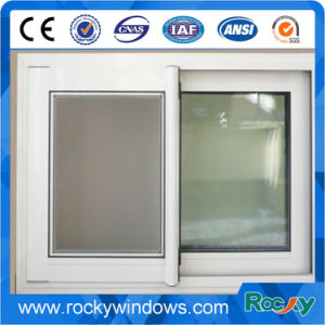 French Style Double Panel Aluminum Sliding Window pictures & photos