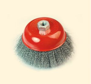 Crimped Wire Cup Brush (BS0.3,) pictures & photos