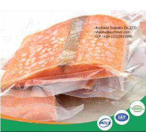 Laminated High Temperature Food Grade Safety Transparent Plastic Food Meat Bag pictures & photos