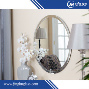5mm Bathroom Mirror Glass with Round Shape pictures & photos