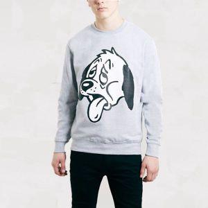 Art Disco Grey Dog Design Sweatshirt pictures & photos