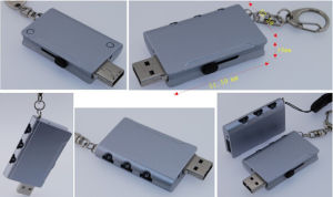 Customized Metal USB Flash Pen Drive of USB 2.0 Flash Disk pictures & photos