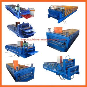 Dx Used Metal Roof Panel Roll Forming Machine pictures & photos
