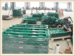 Scaffolding Guard Rail Export to Europe Market pictures & photos