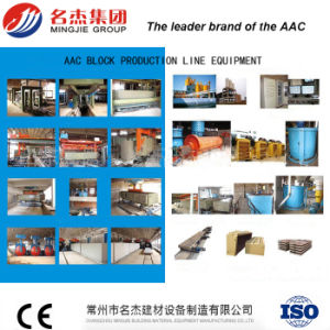 Environmental Autoclaved Aerated Concrete AAC Block Machine for Sand Lime Block pictures & photos