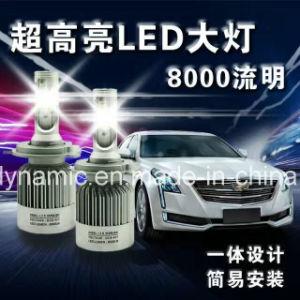 8000 Lumen COB LED Headlight H1 6000k Q2 LED Headlight pictures & photos