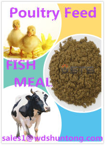 High Quality& Fish Meal with High Protein for Animal Feed pictures & photos