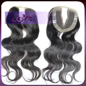 Virgin Hair V Shape Lace Closure
